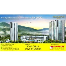 Condominium at Meru height residence condominium for sale in Ipoh, Ipoh