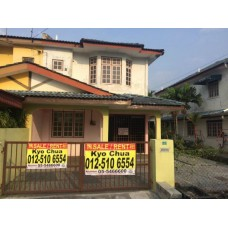 Double Storey Semi D house for Sale in Bercham Ipoh