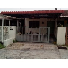 Single Storey Intermediate Corner house in Taman Mas Ipoh